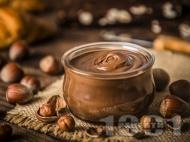 Рецепта Бърз и много лесен шоколадов крем с две съставки